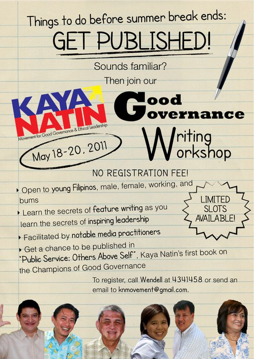 summer writing workshops